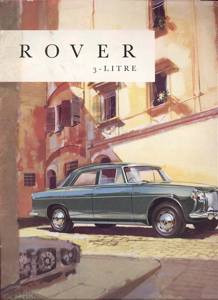 Old Car Brochure