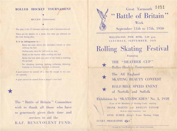 Photo: Illustrative image for the 'Programmes for the Skating Cavalcades' page