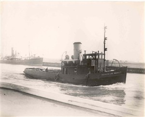 Photo:The tug Richard Lee Barber