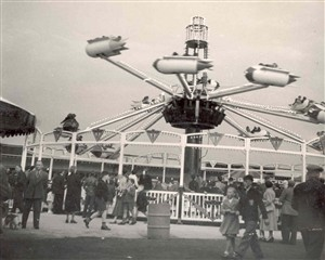 Photo:One of the rides at Great Yarmouth Pleasure Beach