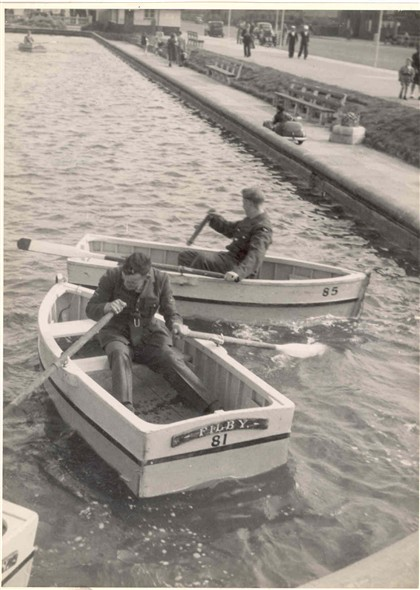 Photo:The Southern Boating Lake, next to the Pleasure Beach, in the 1950's