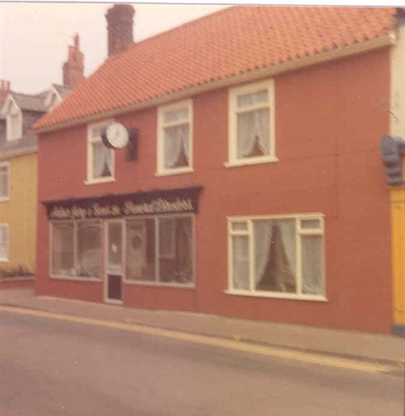 Photo:Gorleston branch shop front, c. 1970