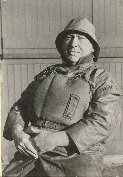 Photo:Gt Yarmouth and Gorleston RNLI Lifeboat Coxswain Charles Johnson, 1943