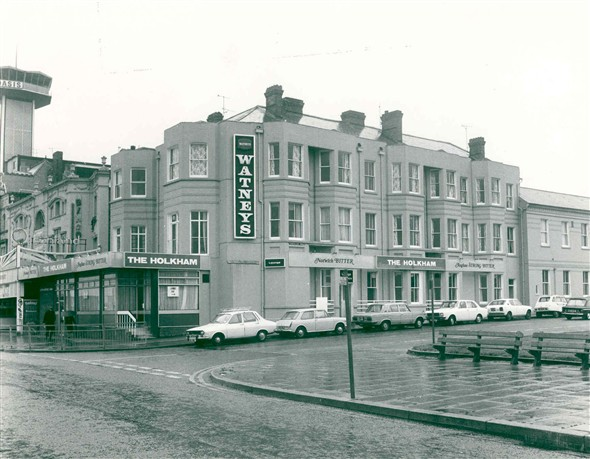 Photo:The Holkham Hotel, Marine Parade, Great Yarmouth in 1977