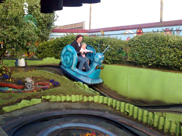Photo:Some things never change - my daughter & I on The Snails in 2007