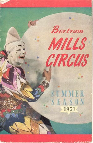 Photo:Bertram Mills circus programme, 1951