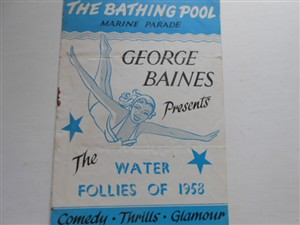 Photo:George Baines Water Follies program Great Yarmouth