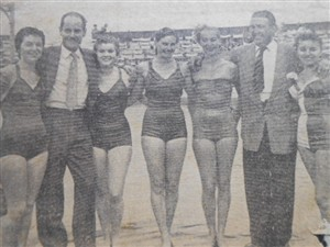 Photo:GEORGE BAINES WATER FOLLIES GREAT YARMOUTH 1955