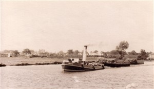 Photo:Postcard of Tug GENSTEAM