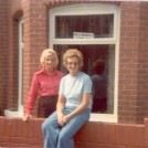 Photo:Mrs Boulton and her Friend Patricia