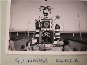 Photo:The Guinness Clock on the front 1954