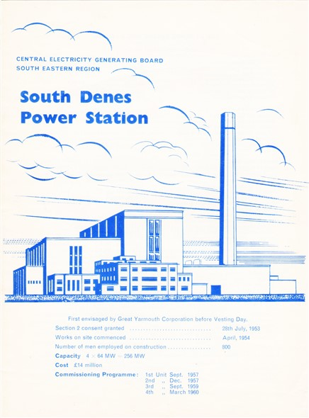 Photo: Illustrative image for the 'South Denes Power Station' page