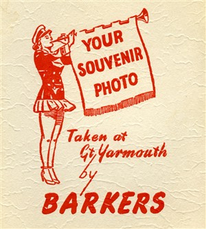 Photo:Great Yarmouth logo used by Barkers for many years. Long after the Great Yarmouth Publicity Department had dropped using it.