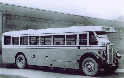 Photo:No ? (EX 3693) One of a small batch of AEC Regal IVs which were delivered to the Corporation in the early 1930s. Location ?