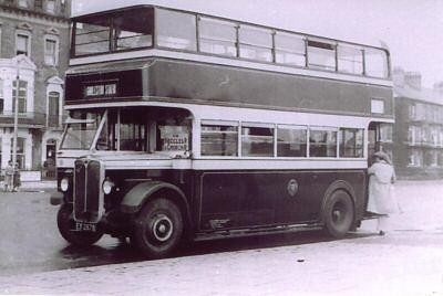 Photo:No ? (EX 2878) An AEC Regent I delivered to the Corporation in 1931. Location ?