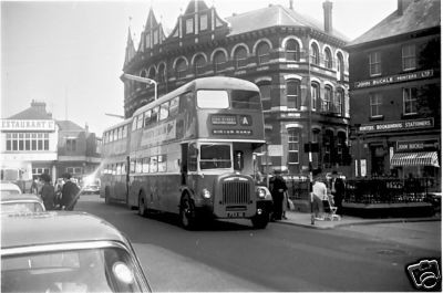 Photo:No 11 (FEX 111) approaching the Regal bus stand