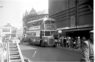 Photo:No 12 (FEX 112) about to take on a good load of passengers at the Regal bus stand