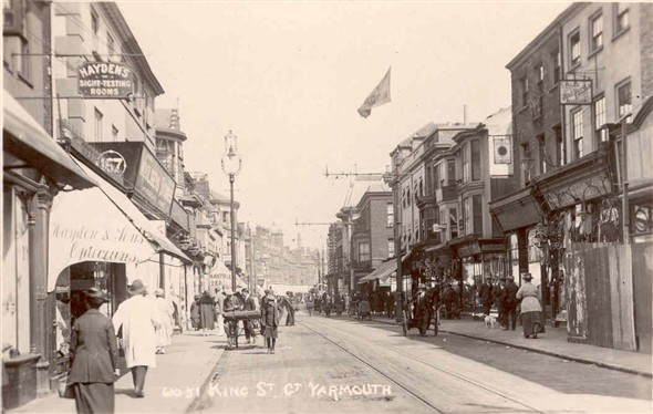 Photo:King Street, Great Yarmouth, c 1900