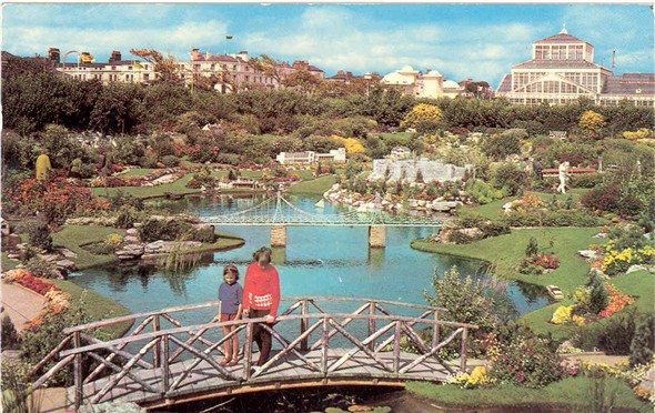 Photo:Postcard showing Merrivale Model Village