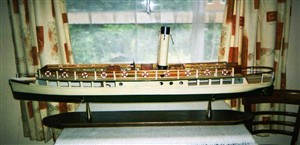 Photo:Model of the Queen of the Broards made by Mike Alsop