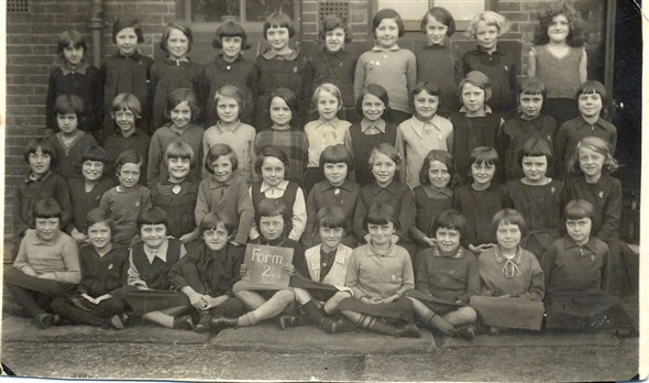 Photo:Group portrait of Form 2 at Northgate School, 1933