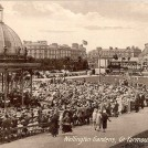 Photo:Postcard showing the Wellington Pier Gardens and Winter Gardens pavilion in background
