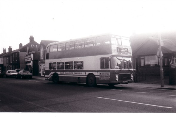 Photo:No 31 (CVF 31T) Northgate Street, approaching the Caister Road depot