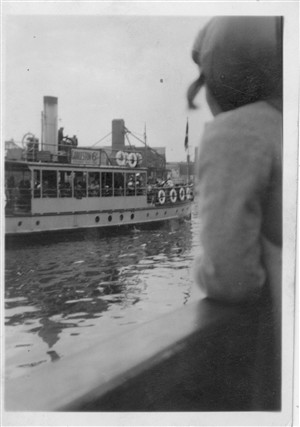 Photo:Photo 1 Cruising on the river late 1930s