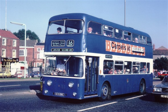 Photo:No 8 (CEX 108C) seen here operating the 16 to Caister, Second Avenue on Fuller's Hill